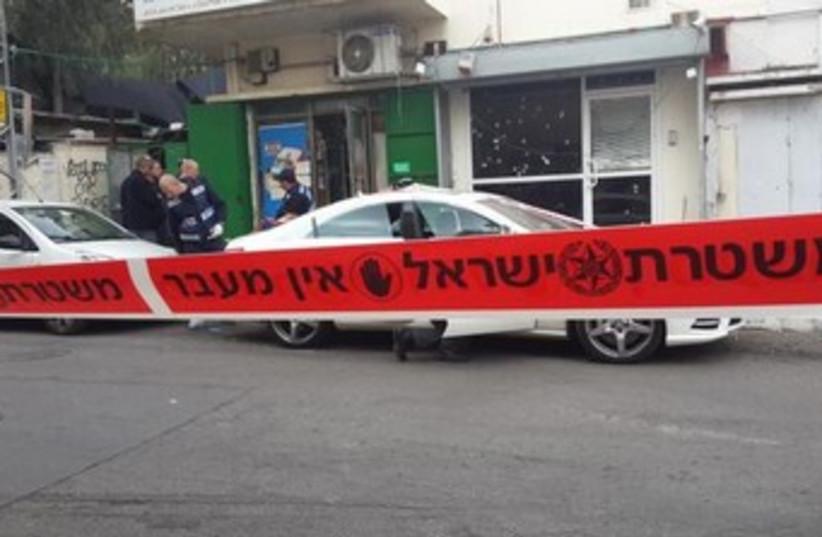 Petah Tikva grenade attack (photo credit: COURTESY ISRAEL POLICE)
