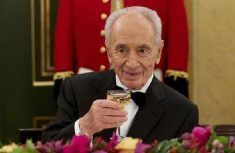 President Shimon Peres. (photo credit: REUTERS)