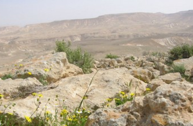 Sde Boker, the Negev. (photo credit: Wikimedia Commons)