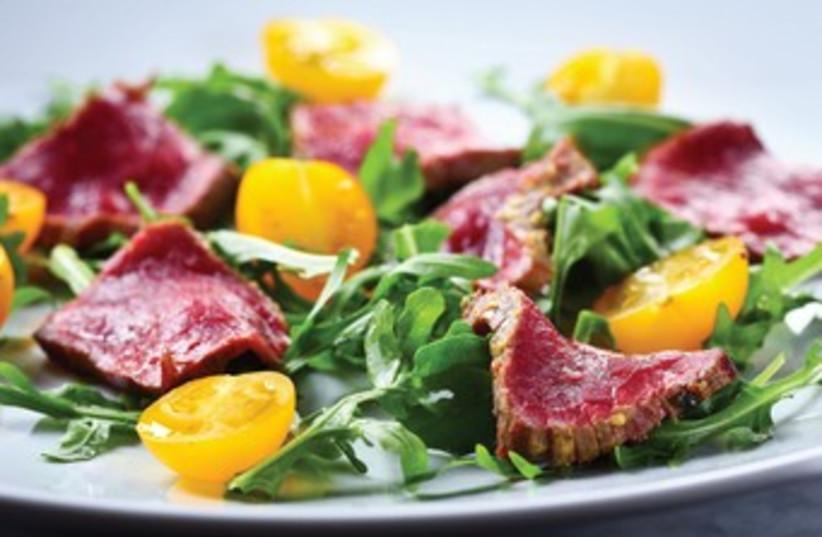 Gourmet salad (photo credit: Courtesy)