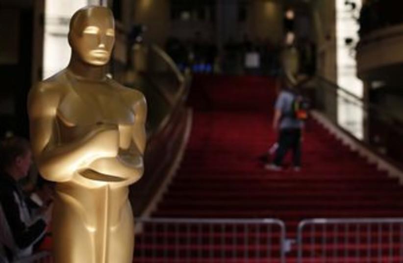 Oscar statue (photo credit: REUTERS)