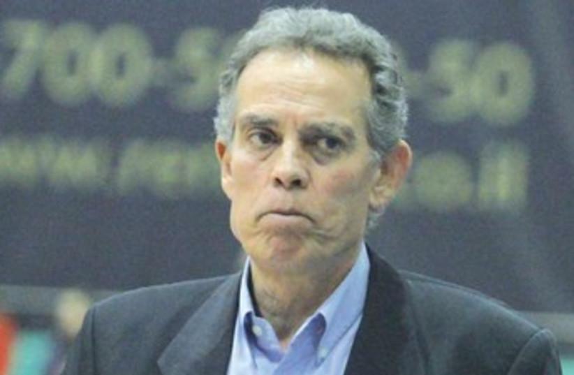 Bnei Herzliya coach Effi Birenboim (photo credit: ADI AVISHAI)