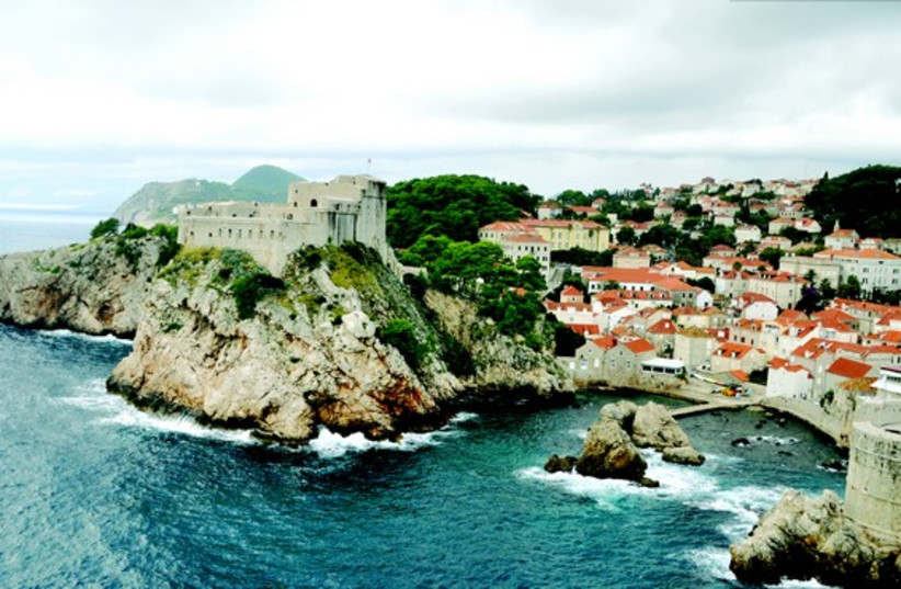 La frorteresse Saint-Laurent à Dubrovnik (photo credit: DR)