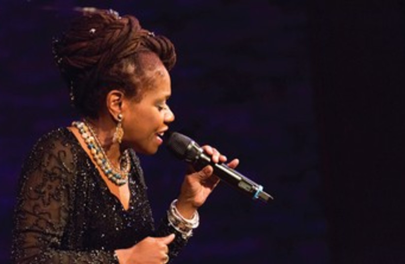 American jazz singer Catherine Russell (photo credit: Courtesy)