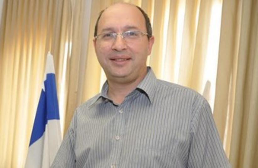 Newly appointed Histadrut chairman Avi Nissankoren. (photo credit: HISTADRUT/YEHUDAH SEGEV)