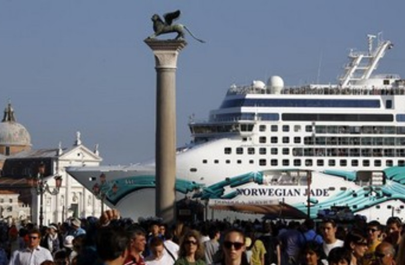Norwegian Jade cruise ship (photo credit: REUTERS)