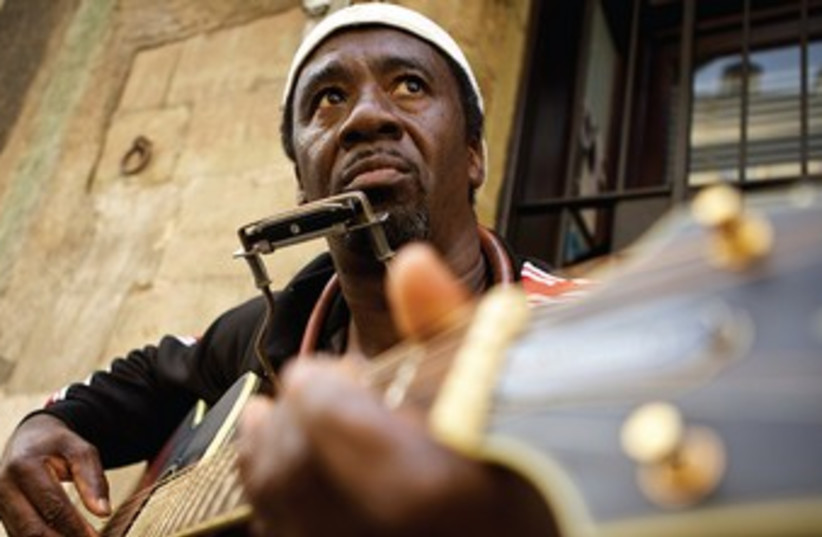 Terry 'Harmonica' Bean will bring the original sounds of the Deep South to Israel this month (photo credit: Courtesy)