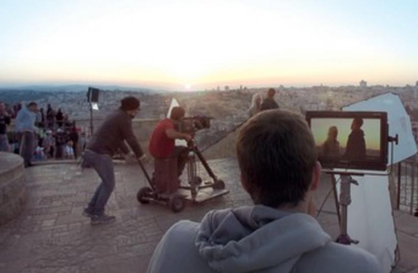 Birthright with cameras (photo credit: JERUSALEM FILM WORKSHOP)