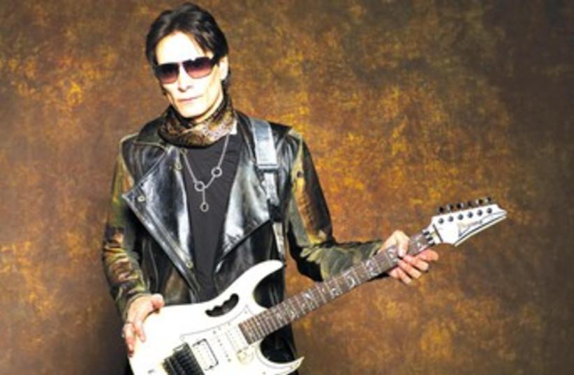 Rock guitarist Steve Vai (photo credit: Courtesy)