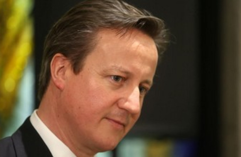 Prime Minister David Cameron (photo credit: MARC ISRAEL SELLEM)