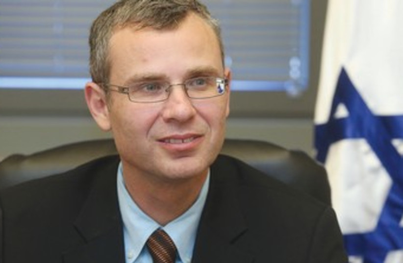 Coalition chairman Yariv Levin is set to take on new challenges. (photo credit: MARC ISRAEL SELLEM/THE JERUSALEM POST)