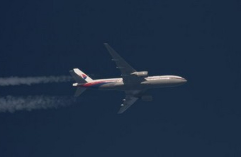 Boeing 777 Malaysian Airlines. (photo credit: REUTERS)