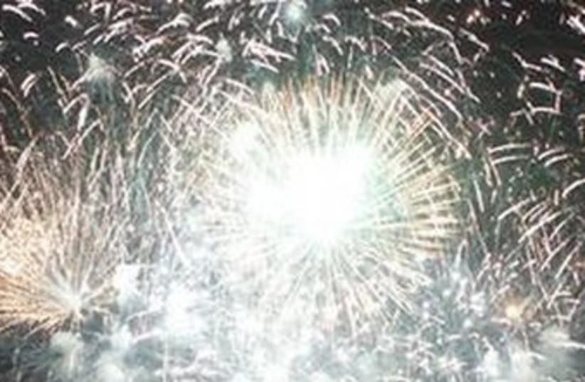 Fireworks (photo credit: REUTERS)