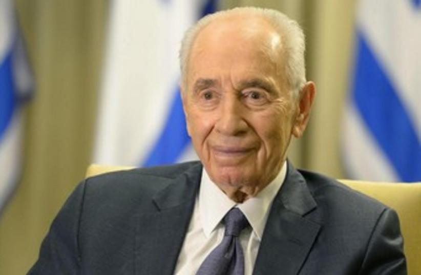 President Shimon Peres. (photo credit: Mark Neiman/GPO)