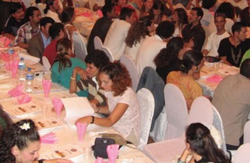 Seder in Katmandu (photo credit: CHABAD OF NEPAL)