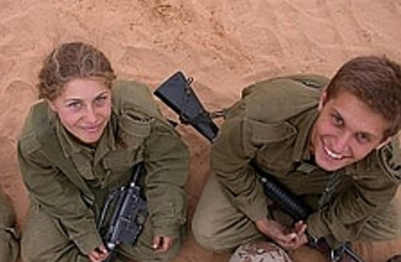 smiling soldiers 298 (photo credit: IDF)