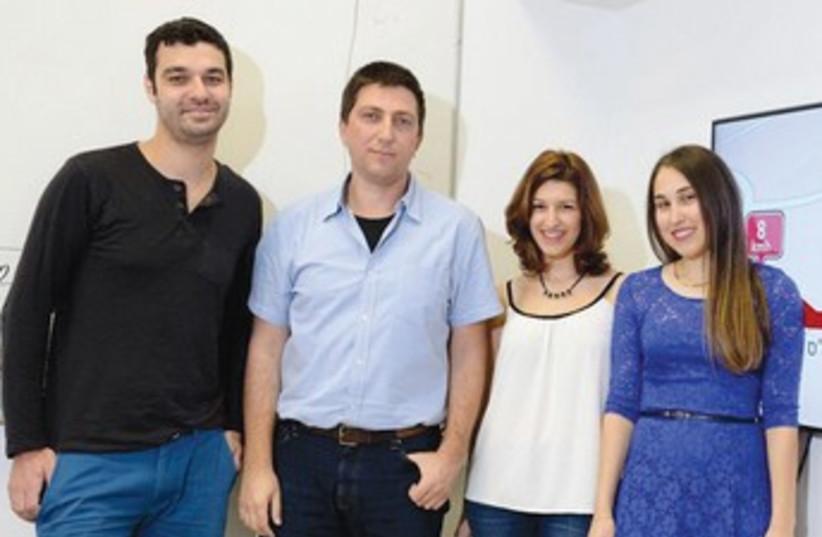 Technion students hack Waze (photo credit: TECHNION)