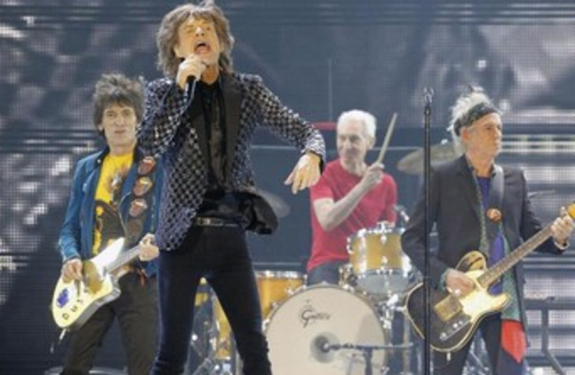 The Rolling Stones perform in Tokyo. (photo credit: REUTERS)