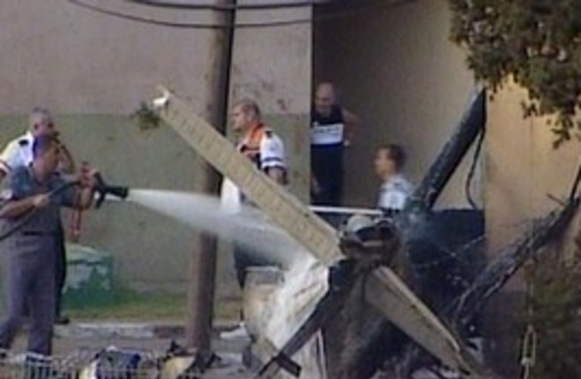 plane crash 298.88 (photo credit: Channel 10)