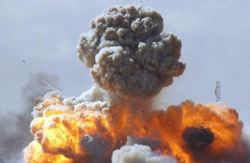 Explosion [file] (photo credit: REUTERS)