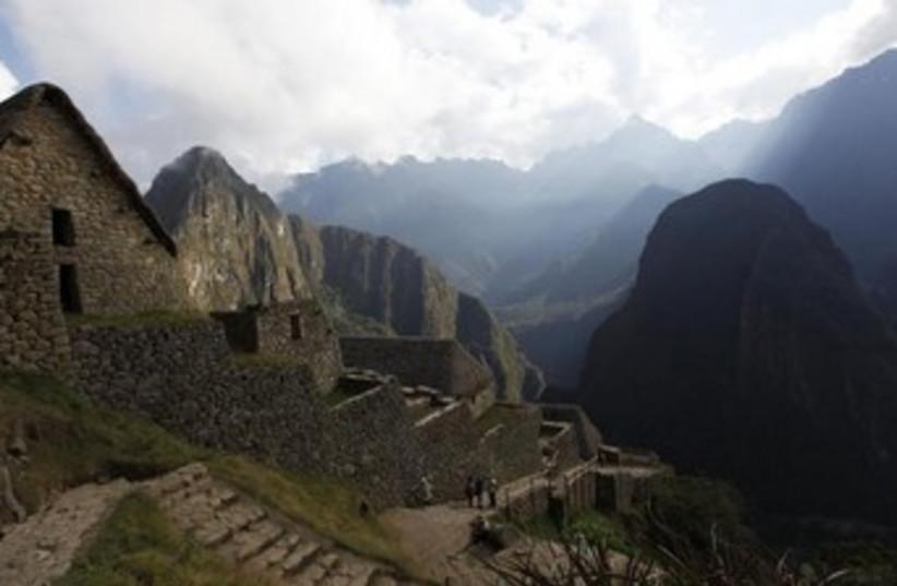 Peruvian Inca site (photo credit: REUTERS)