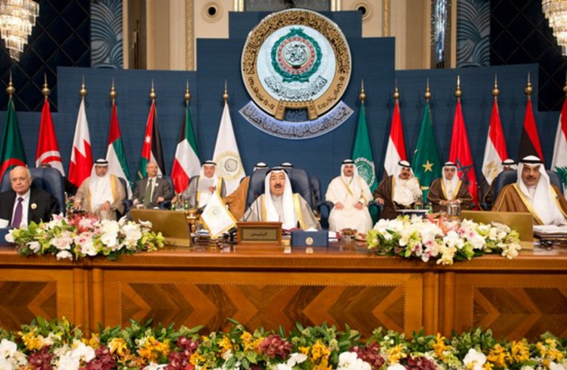 Closing session of the 25th Arab Summit (photo credit: REUTERS)