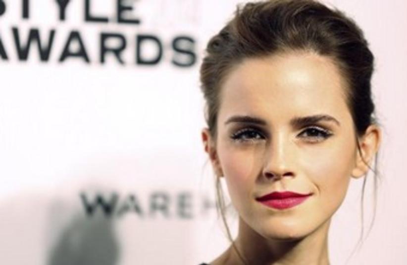 Emma Watson (photo credit: REUTERS)
