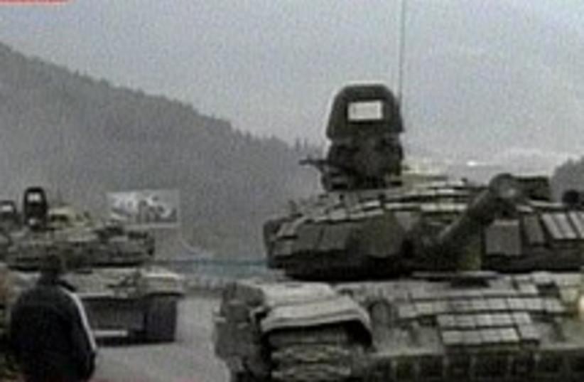 russian tanks 224 88 (photo credit: Sky News)