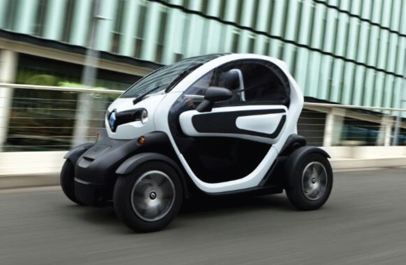 THE RENAULT TWIZY (photo credit: Courtesy)
