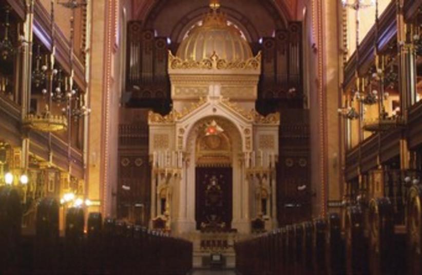 THE DOHÁNY STREET Synagogue (photo credit: SAM SOKOL)