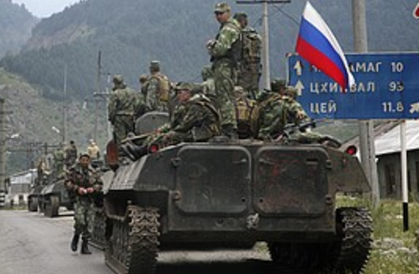 russian tanks 298.88 (photo credit: )