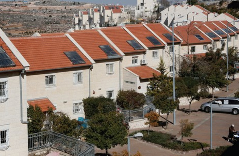 How many settlers in the West Bank create an irreversible new reality? (photo credit: MIRIAM ALSTER / FLASH 90)