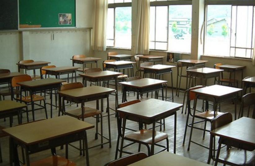 Classroom [Illustrative] (photo credit: Wikimedia Commons)