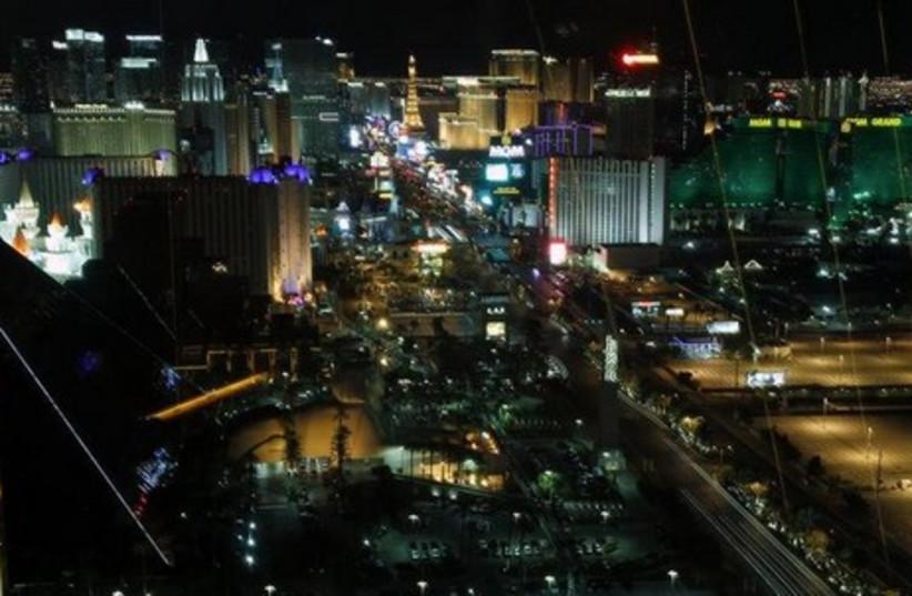 Las Vegas. (photo credit: REUTERS)