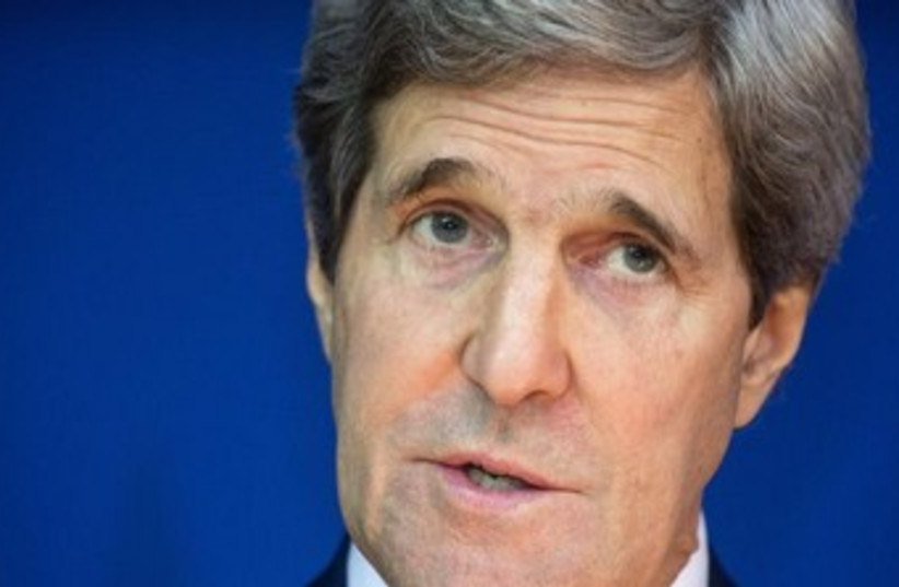 John Kerry (photo credit: REUTERS)