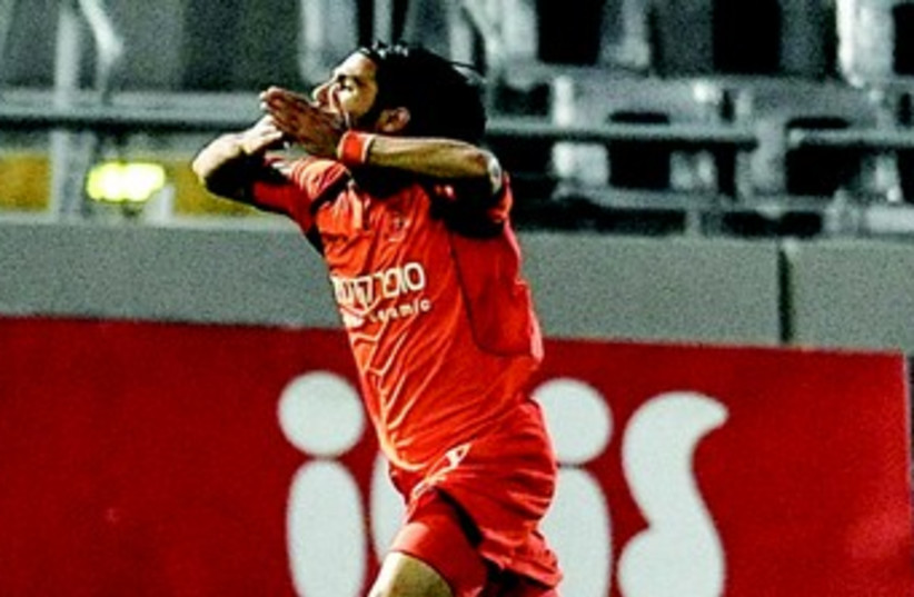 Bnei Yehuda striker Ohad Kadusi (photo credit: ASAF KLIGER)