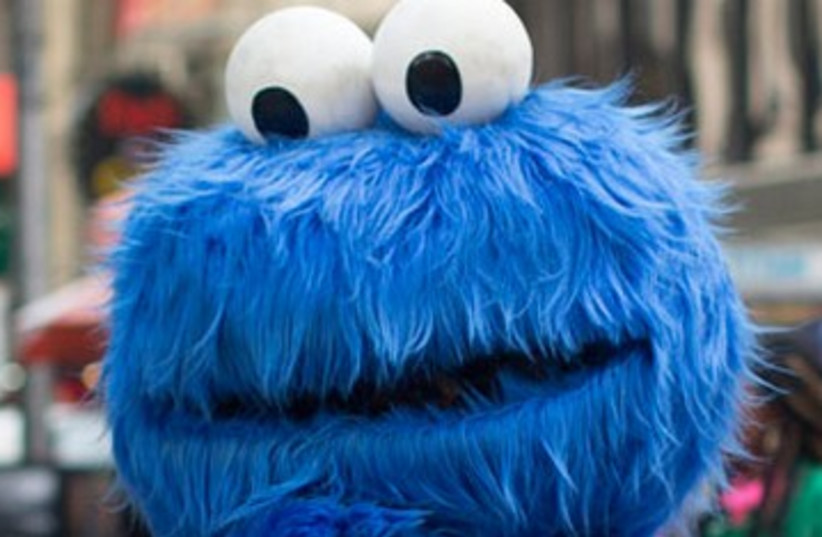 Cookie Monster (photo credit: REUTERS)