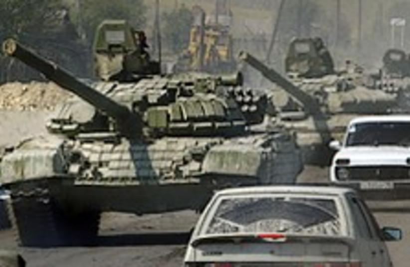 russian tank cool 224.88 (photo credit: AP)