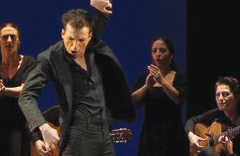 FLAMENCO DANCER Marco Flores and his ensemble. (photo credit: Courtesy)