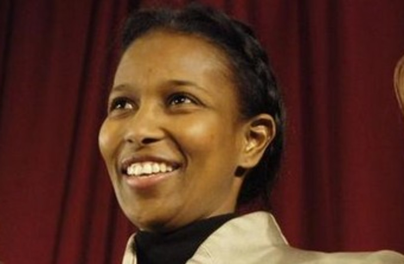 Ayaan Hirsi Ali (photo credit: REUTERS)