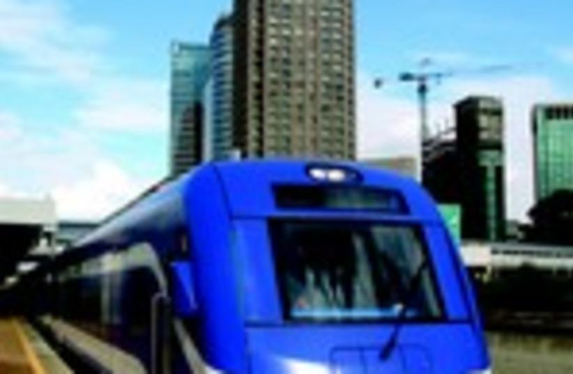 Ici à Tel Aviv Hashalom. Et si le Ministère des Transports  investissait dans le développement des trains et tramways ?  (photo credit: DR)