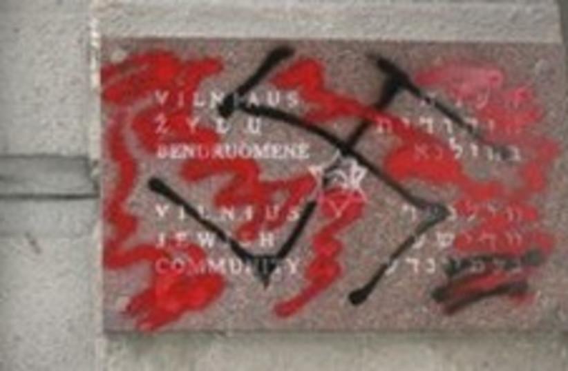 lithuania anti-semitism  (photo credit: Courtesy)