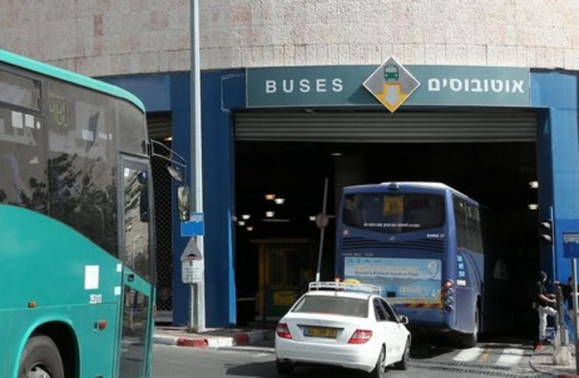 Jerusalem Central Bus Station  (photo credit: MARC ISRAEL SELLEM)