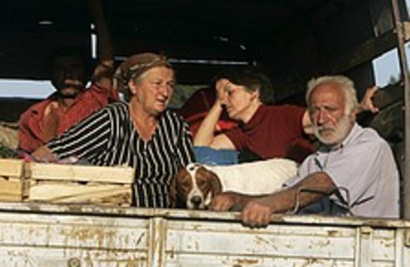 Georgia refugees 224.88 (photo credit: AP)