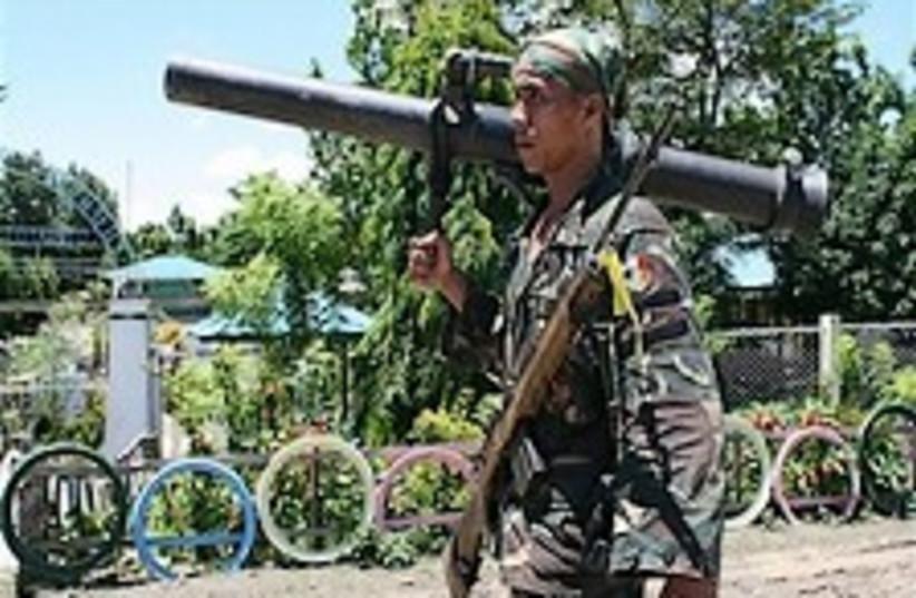 Philippine soldier 224.8 (photo credit: AP)