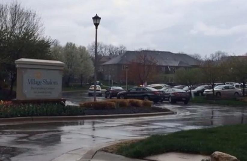 Jewish retirement home in Kansas where gunman opened fire. (photo credit: screenshot)
