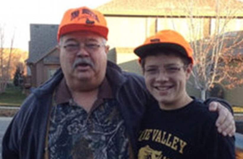 Two of the three people killed in attacks, Dr. William Lewis Corporan, and his grandson, Reat Griffin Underwood. (photo credit: Courtesy)