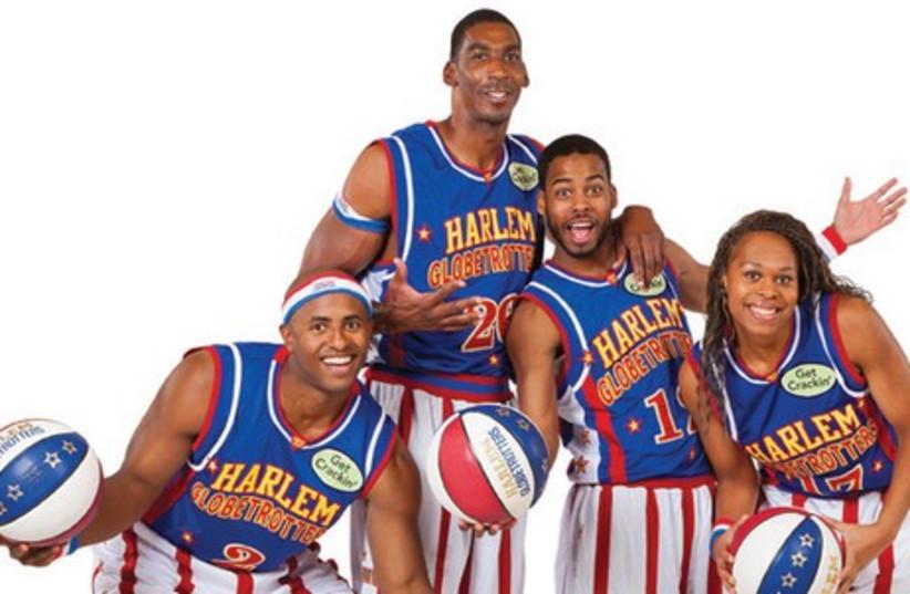 Harlem Globetrotters (photo credit: Courtesy)