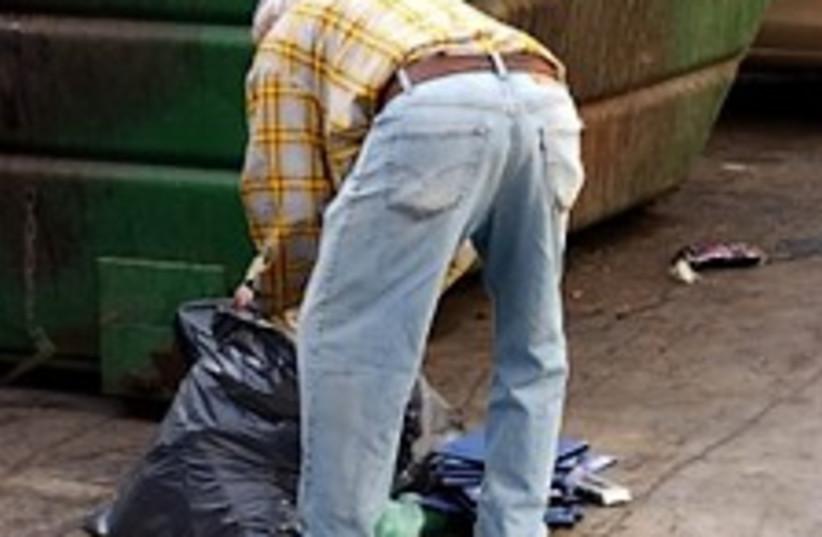 poverty garbage 224.88 (photo credit: Ariel Jerozolimski)