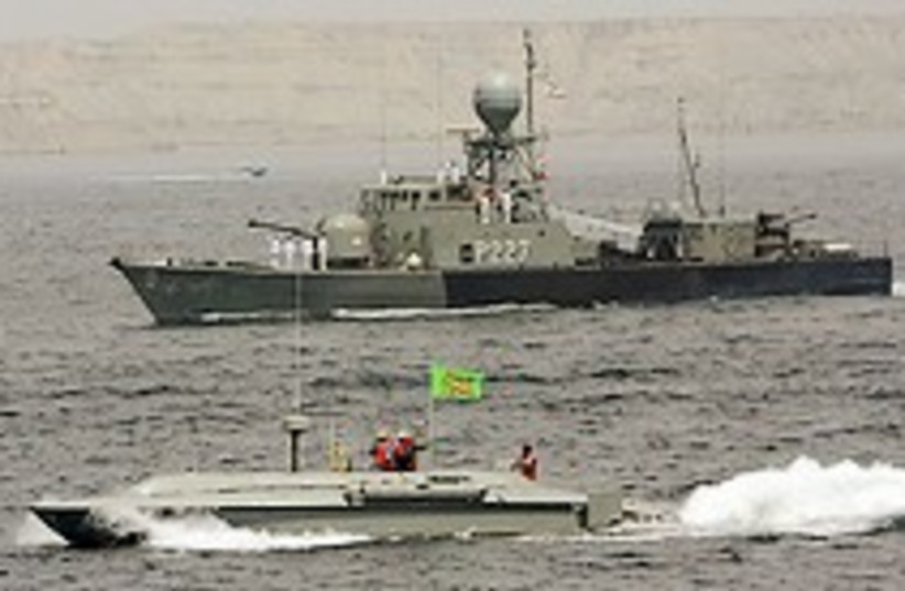 iranian navy 224.88 (photo credit: Courtesy)